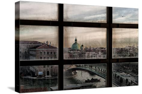 Venice Window-Roberto Marini-Stretched Canvas Print