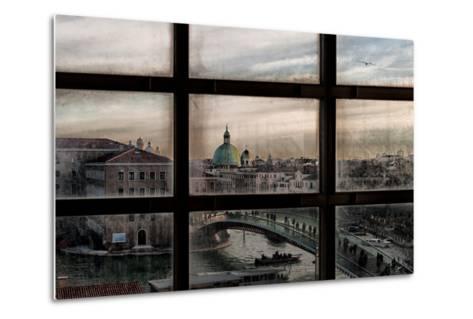 Venice Window-Roberto Marini-Metal Print