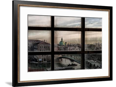 Venice Window-Roberto Marini-Framed Art Print