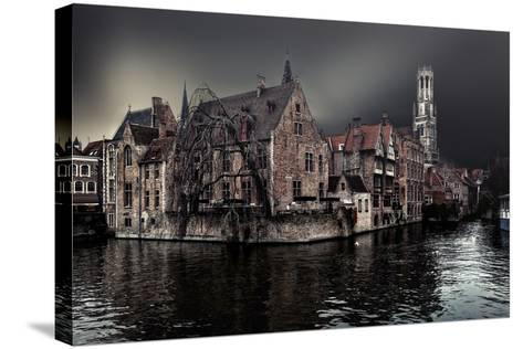 The Darkness of Winter Cold-Piet Flour-Stretched Canvas Print