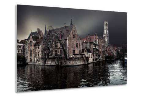 The Darkness of Winter Cold-Piet Flour-Metal Print