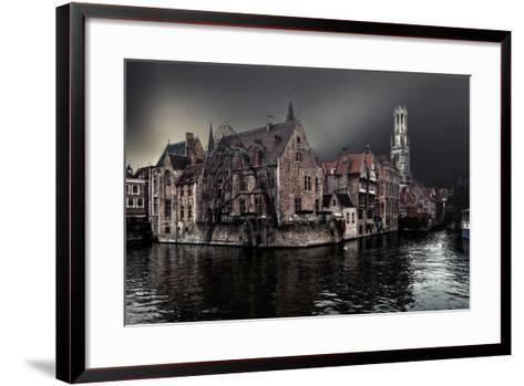 The Darkness of Winter Cold-Piet Flour-Framed Art Print