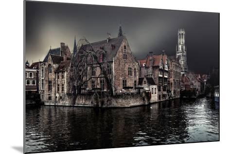 The Darkness of Winter Cold-Piet Flour-Mounted Photographic Print