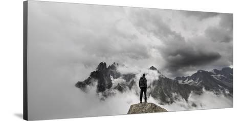 In the Clouds- Michal-Stretched Canvas Print