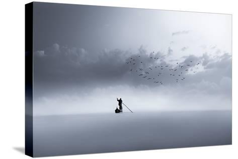 The Way Back-Mohammed Sattar-Stretched Canvas Print