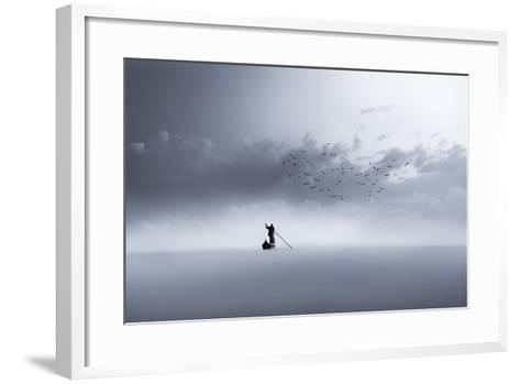 The Way Back-Mohammed Sattar-Framed Art Print