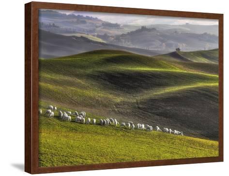 Pastoral-Roman Lipinski ?-Framed Art Print