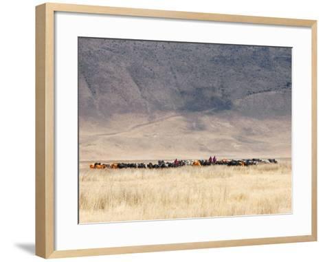 Incredible Maasai-Mathilde Guillemot-Framed Art Print