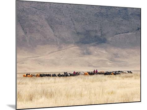 Incredible Maasai-Mathilde Guillemot-Mounted Photographic Print