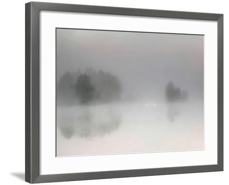 Misty Morning-Bjorn Emanuelson-Framed Art Print