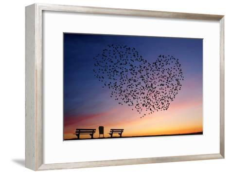Love Is in the Air- Annemieke-Framed Art Print
