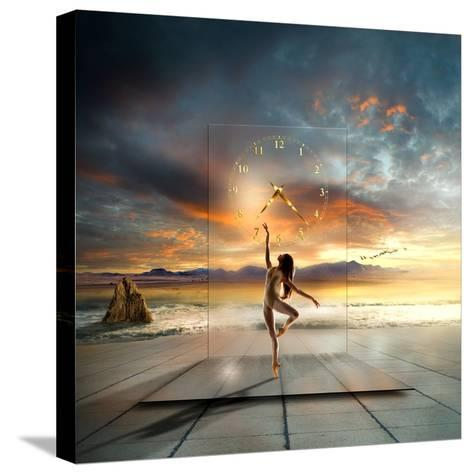 In My Dreams ...-Franziskus Pfleghart-Stretched Canvas Print