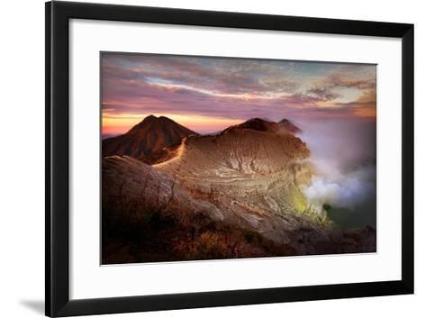 Jupiters Sulphur Mines-Phil Green-Framed Art Print
