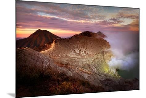 Jupiters Sulphur Mines-Phil Green-Mounted Photographic Print