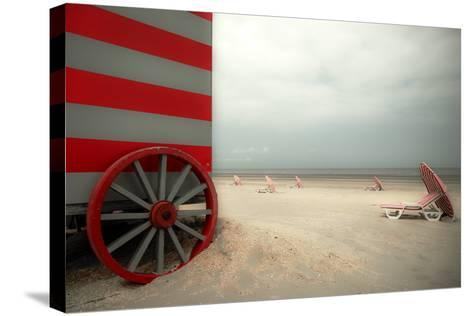 Red Wagon-Gilbert Claes-Stretched Canvas Print