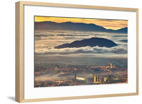 Between Heaven and Earth-Jordan Lye-Framed Art Print