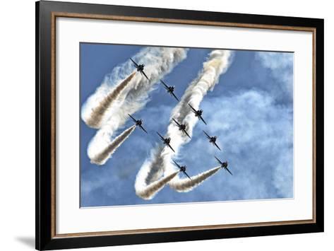 Red Arrows-Rafa? Czernia-Framed Art Print