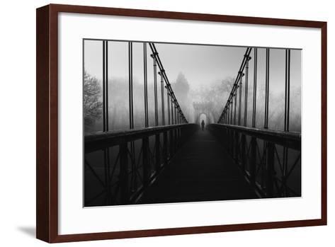 Alone-Catalin Alexandru-Framed Art Print