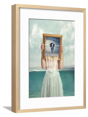 Deeper-Baden Bowen-Framed Art Print