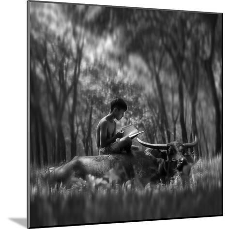 Learn Spirit-Antonyus Bunjamin (Abe)-Mounted Photographic Print