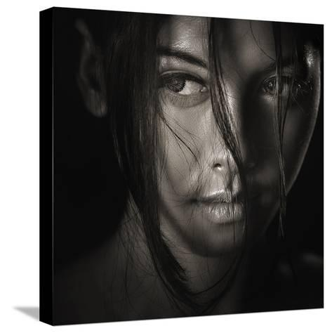 The Look-Ivan Lee-Stretched Canvas Print