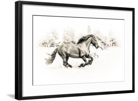 The Two Friends-Sebastian Graf-Framed Art Print