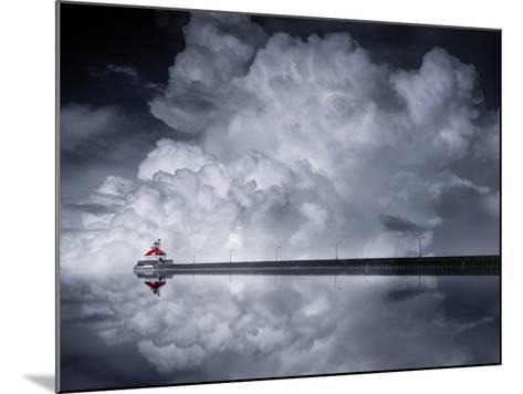 Cloud Desending-Like He-Mounted Photographic Print