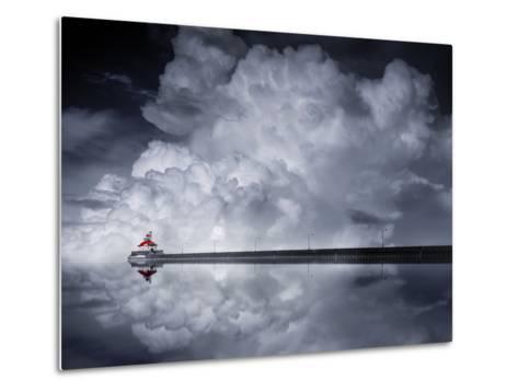 Cloud Desending-Like He-Metal Print
