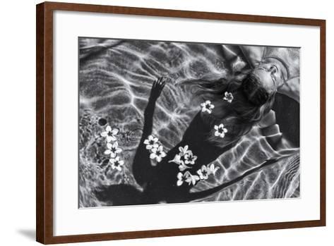 Frangipani Tree-Gloria Salgado Gispert-Framed Art Print