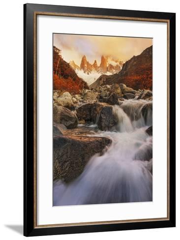 Autumn Impression-Yan Zhang-Framed Art Print