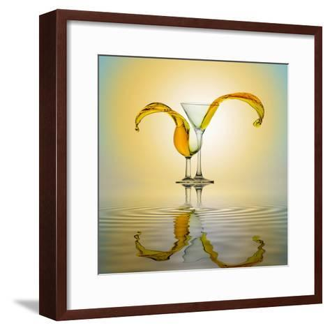 You and Me-Ganjar Rahayu-Framed Art Print