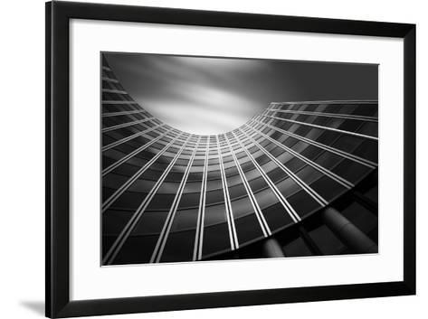The Wave-Olivier Schwartz-Framed Art Print