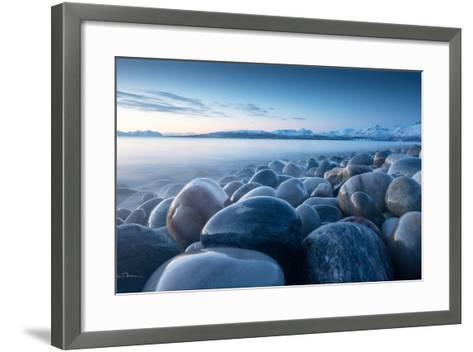 An Ocean of Time-Ebba Torsteinsen Jenssen-Framed Art Print