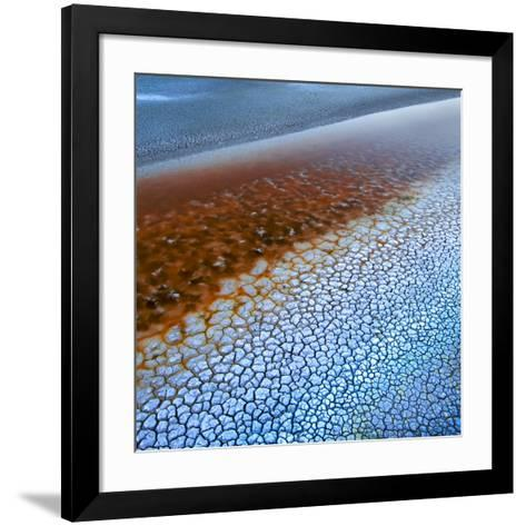 Laguna Colorada Texture-Ignacio Palacios-Framed Art Print
