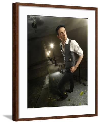 One Way Ticket-Christophe Kiciak-Framed Art Print