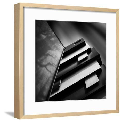 Black and White- Ajkabajka-Framed Art Print