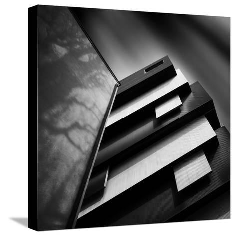 Black and White- Ajkabajka-Stretched Canvas Print