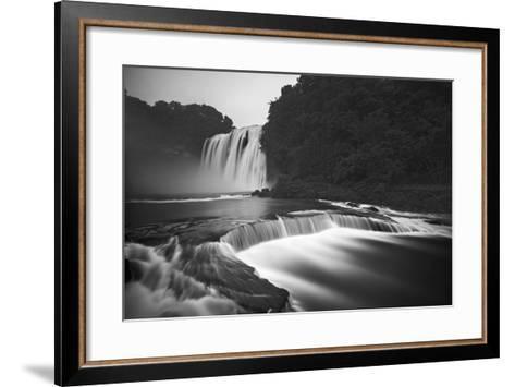 Huangguoshu Waterfalls-Yan Zhang-Framed Art Print
