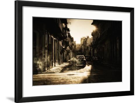 Mystic Morning in Havana...-Baris Akpinar-Framed Art Print
