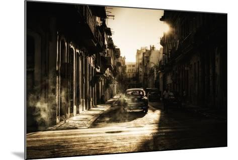 Mystic Morning in Havana...-Baris Akpinar-Mounted Photographic Print
