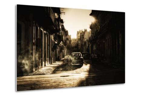 Mystic Morning in Havana...-Baris Akpinar-Metal Print