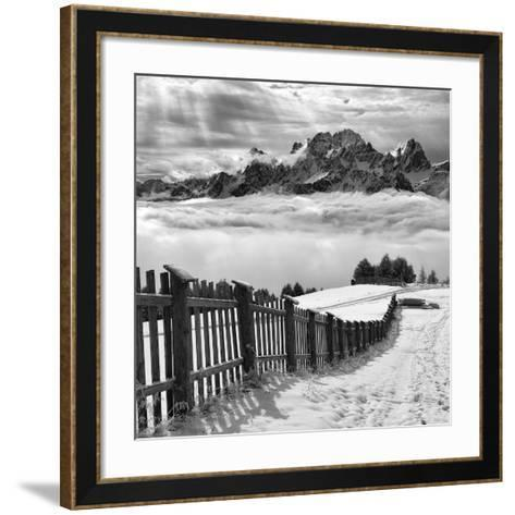 Elements- Swapnil.-Framed Art Print