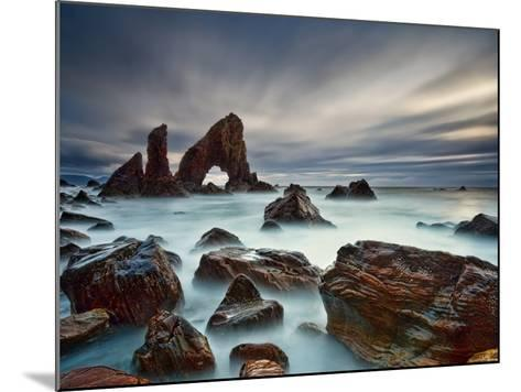 Sea Arch At Crohy Head-Derek Smyth-Mounted Photographic Print