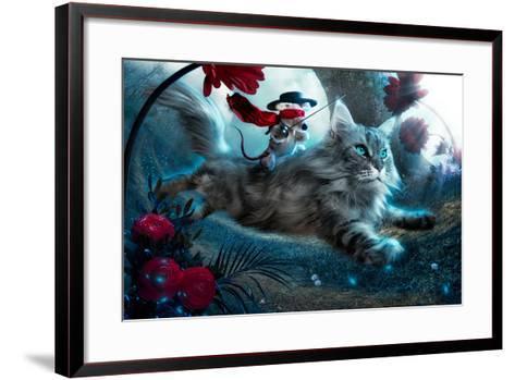 The Hero-Christophe Kiciak-Framed Art Print