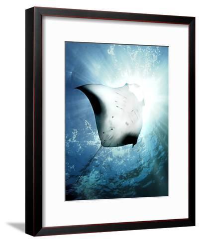 Sun Diver-Henry Jager-Framed Art Print