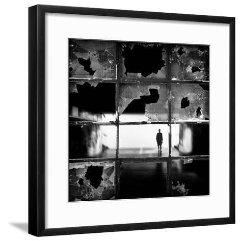 Fractures-Darko Cuder-Framed Art Print