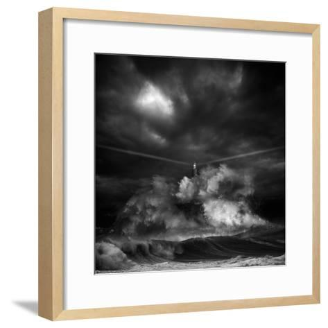 Muro Time-Pedro Sánchez-Framed Art Print