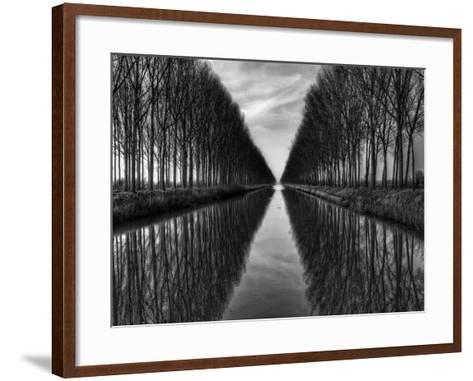 Vanished to the Infinite-Yvette Depaepe-Framed Art Print