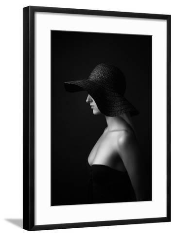 Jane Doe-Alexey Frolov-Framed Art Print