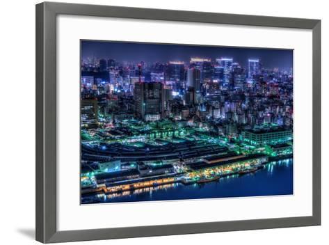 Tokyo-Tomoshi Hara-Framed Art Print